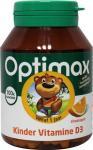 Optimax Kinder Vitamine D3 Kauwtabletten Sinaasappel