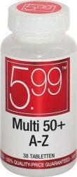 5.99 Multivitamine A-z 50plus